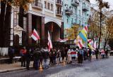 МИД Беларуси вручило ноту протеста украинскому послу из-за акций у посольства в Киеве