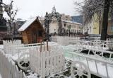 Старт новогодних ярмарок, декорации и домик Бабы-Яги – Брест готовится встретить зиму