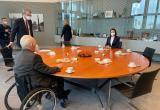 Тихановская в Бундестаге обсудила санкции против Беларуси
