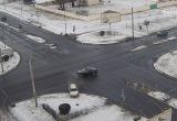 Серьезная авария двух легковушек в Бресте попала на видео
