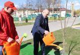 Лукашенко в Брагине заложил аллею, собрал совещание и поучаствовал в митинге-реквиеме