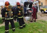 От крушения самолета в Барановичах пострадал местный житель, повреждены машины и дома