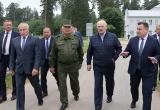 Лукашенко проверяет производство стрелкового оружия и патронов под Оршей