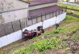 Пьяный водитель легковушки вылетел с моста в Бресте