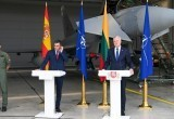 Из-за перехвата российских самолетов прервали брифинг президента Литвы