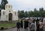 Церковь из пенопласта построили в украинском Херсоне
