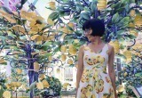Стройка стала фотозоной: в Нью-Йорке строительные леса замаскировали под сад с лимонными деревьями
