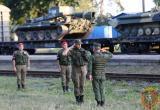 В Брест прибыл первый эшелон с военнослужащими из России