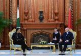 Лукашенко в Душанбе встретился с премьер-министром Пакистана
