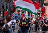 В Италии вспыхнули протесты из-за коронавирусных паспортов